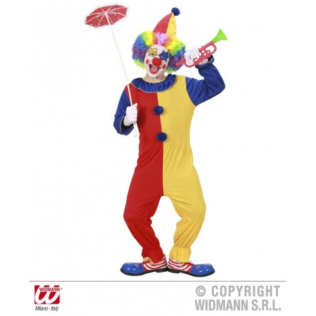 """CLOWN"" (Kleid, Hut)"