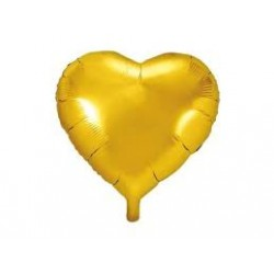Folien Ballon Herz gold