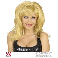 "Ve 4 ""BLONDE PERÜCKE FLIRTY"" in Beutel"